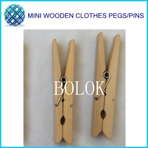 100pcs/lot Retail BIG SIZE 72mm Natural wooden clothes pins | Craft Clip | Wooden Clothes Peg<br><br>Aliexpress