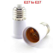 Adaptador AC E27 a E14 a E12 GU10 B22 para bombillas LED toma de Base de luz a prueba de fuego convertidor de bombilla Conversión de lámpara calidad de titular(China)