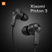 M5 New High Quality Xiaomi Piston 3 Fashion Design In-Ear Headphones Earphone Headset for Smartphone with Remote Mic(China (Mainland))
