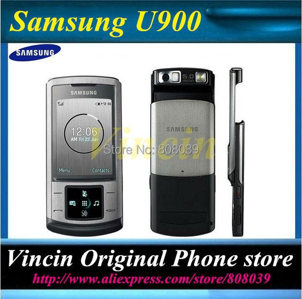 original samsung U900 mobile phone Internal 128 MB Refurbished(China (Mainland))