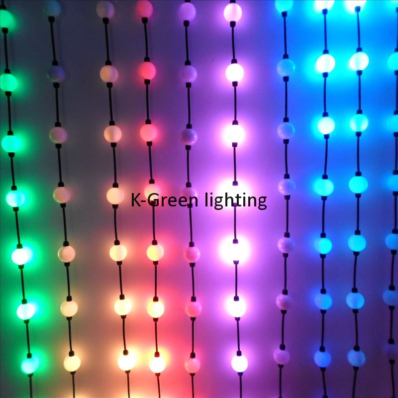 100X DMX512 diameter50mm 360degree magic 3D led ball pixel point light source DC12V input waterproof IP65 express free shipping<br><br>Aliexpress