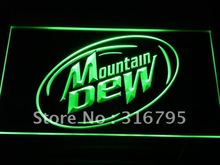 a162-g Mountain Dew Energy Drink Sport LED Neon Light Sign Wholesale Dropshipping On/ Off Switch 7 colors DHL(China (Mainland))