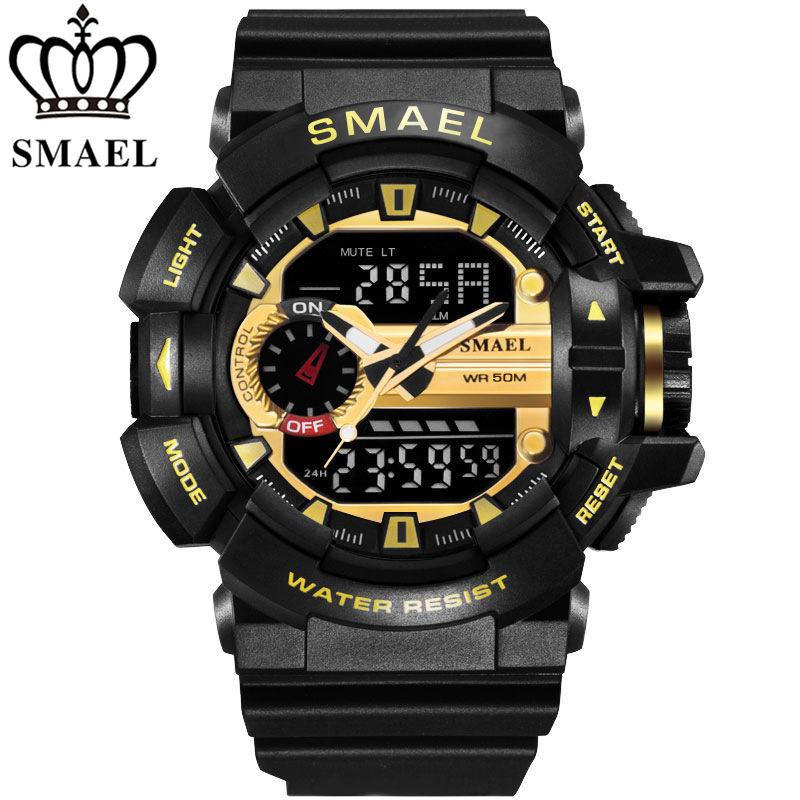 Watches Mens Luxury Brand SAMEL Fashion Digital Watch Men Sports Military Wristwatch G Style Outdoor Clock Men Relogio Masculino(China (Mainland))