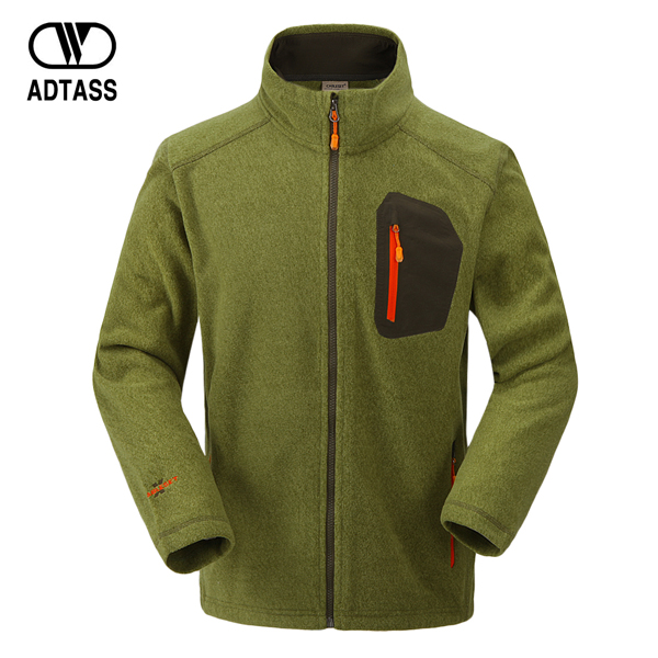 Autumn outdoor clothes male casual fleece clothing male thermal liner stand collar male top outerwear(China (Mainland))
