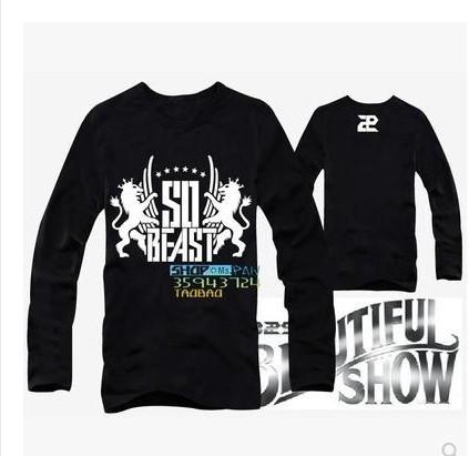 B2ST 5TH MINI ALBUM midnight sun SO BEAST t shirt short-sleeved T-shirtОдежда и ак�е��уары<br><br><br>Aliexpress