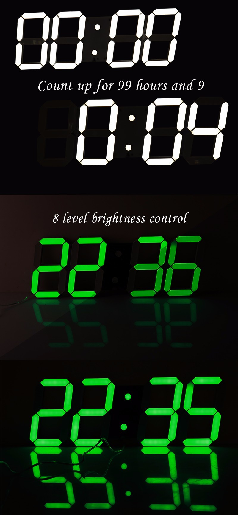Dhl free creative remote control large led digital wall for Digital home designs