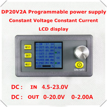 RD DP20V2A Constant Voltage and current Step-down Programmable Power Supply module buck Voltage converter LCD display voltmeter(China (Mainland))