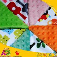 4pcs minky print fabric ,4pcs minky dot fabric ,8pces per lot . Size 45cm*45cm Per Piece Soft Fabric Minky Can Sew For Baby Gift(China (Mainland))