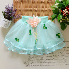 0-24 Months New Arrival Newborn Baby Girl Tutu Skirt Of Tulle Bow Dot Casual Mini Skirts For Infants Ball Gown L-08(China (Mainland))