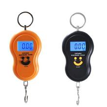 hot selling new Portable 50kg/5g LCD Digital Fish Hanging Luggage Weight Hook Scale Healthy Families(China (Mainland))