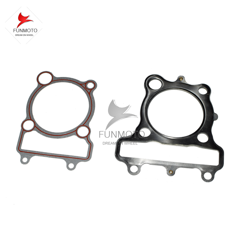 CYLINDER AND CYLINDER HEAD GASKET SUIT FOR JIANSHE 250 LONCIN 250 ENGINE PARTS JS-FG 171FMM(China (Mainland))