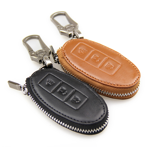 Genuine leather key wallet ex infiniti fx g m genuine leather key wallet(China (Mainland))