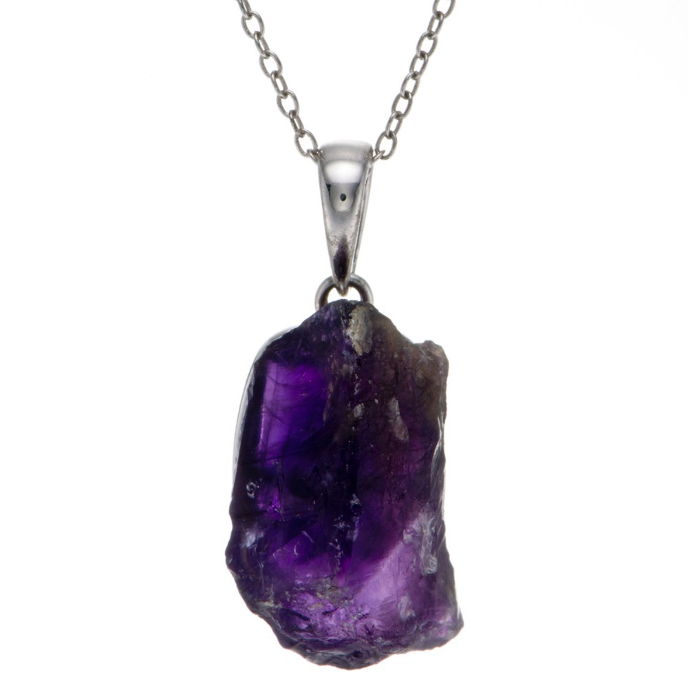 Buy gram natural amethyst rough gemstone 925 sterling for Buying jewelry on aliexpress