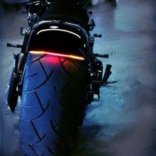 LPL-031 Universal Motorcycle Tail Brake Stop Turn Signal Integrated 3258 Pasted LED Light Strip For Kawasaki Ninja 250 300 Z250(China (Mainland))