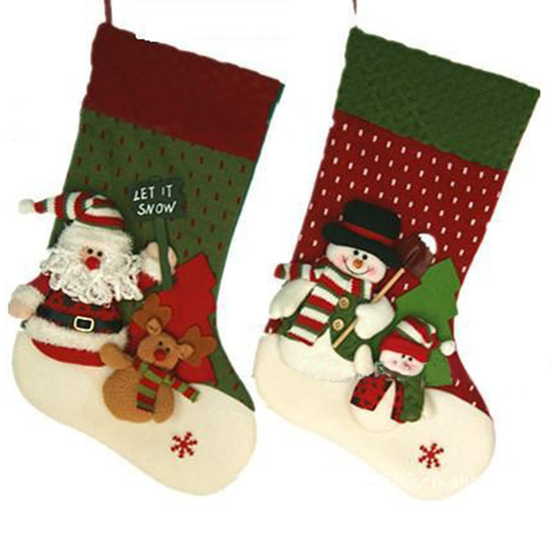 Hot Sale Christmas Socks 20 Indoor Christmas Hanging