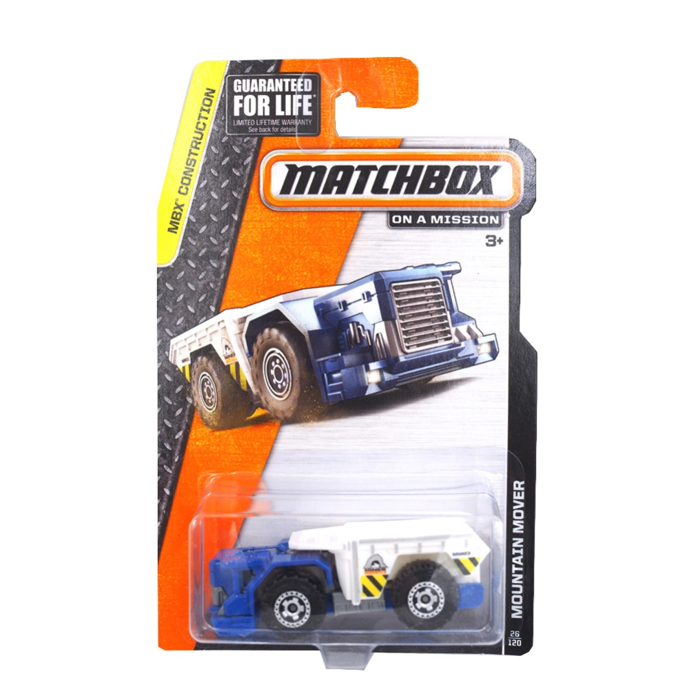 Authorized sales Hot Wheels Matchbox Series mountain mover Model26 mini kids toys Plastic metal miniatures cars collectible toy(China (Mainland))