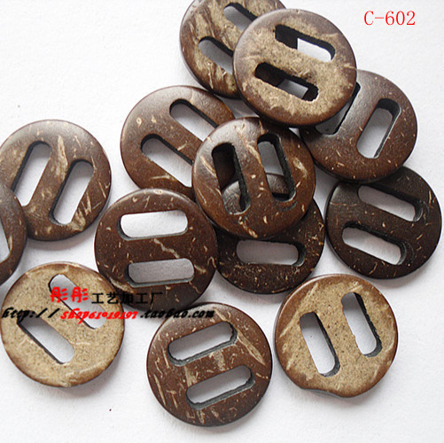 50pcs 2-Holes round with parallel lines pierced work Wooden Buttons Fit Sewing and Scrapbooking For DIY 15 * 15MM(China (Mainland))