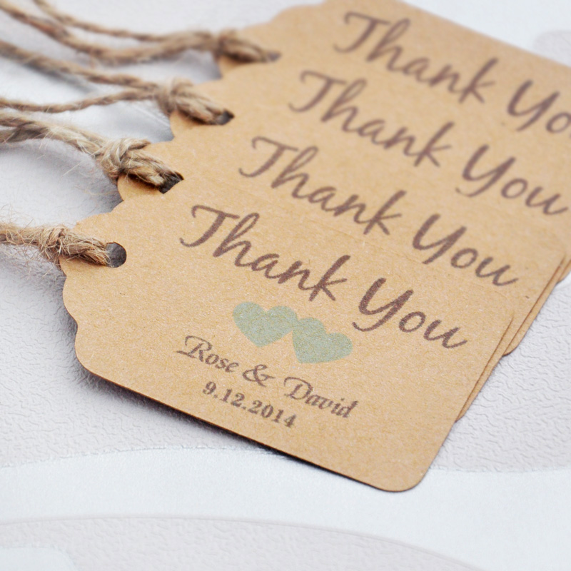 Thank You Wedding Gift Tags : ... you can choose paper wedding favor tags Personalized Gift Tags on