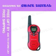 PROMOTIONAL 10PCS/LOT FREE SHIPPING New Walkie Talkie Set Wireless 2 Way Radio Intercom 5km T-6 #EC124