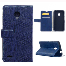 Buy ZTE Blade V7 Luxury Crocodile Skin Wallet PU Leather Cover Case Card Slots Stand Holder Flip Phone Bag Case for $6.65 in AliExpress store