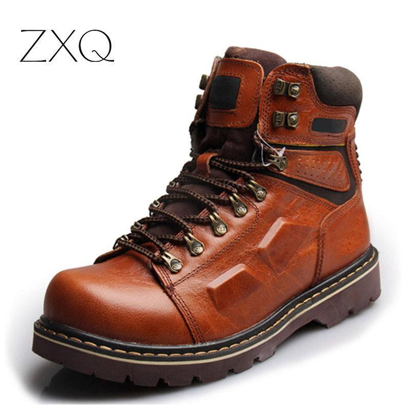 best mens leather boots tsaa heel