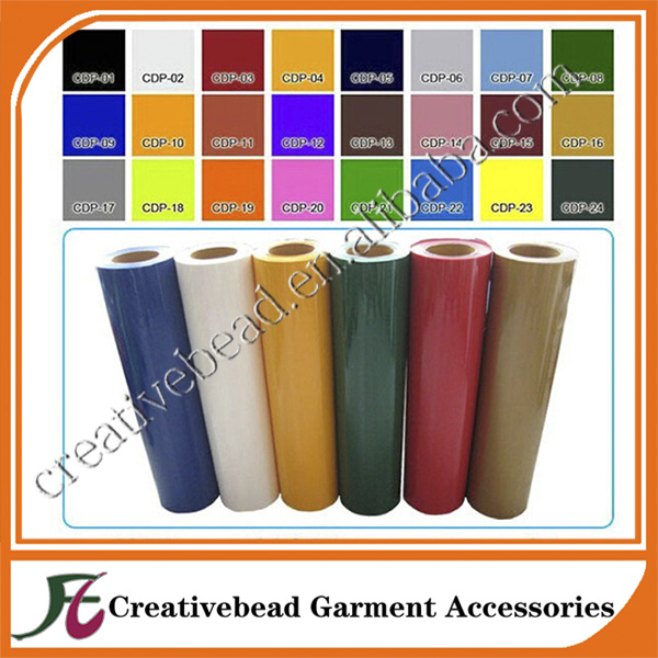 Wholesale Heat Press Machine Transfer Vinyl film Material ALL COLORS t-shirt cutter plotter pvc heat transfer film(China (Mainland))