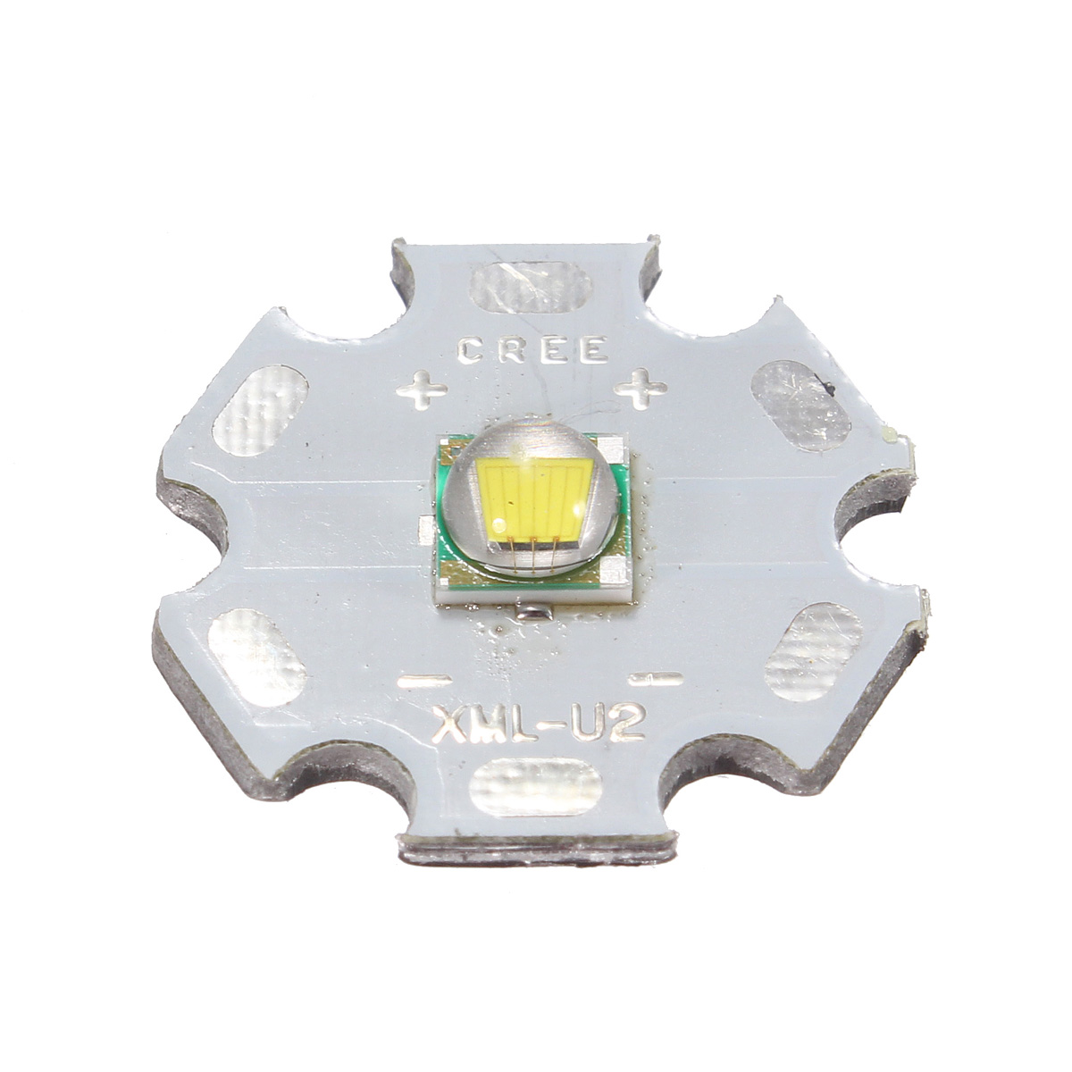 High quality 10W 20mm White 1100Lm XML U2 LED Emitter Light Lamp Star Base 3000mA DIY(China (Mainland))