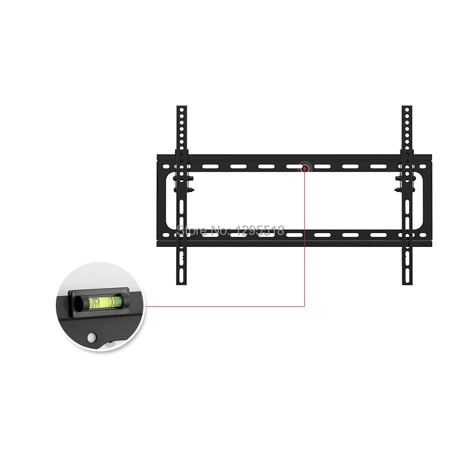 Top sale t2m tv wall mount monitor tv wall fit most 32 70 for Best lcd wall mount