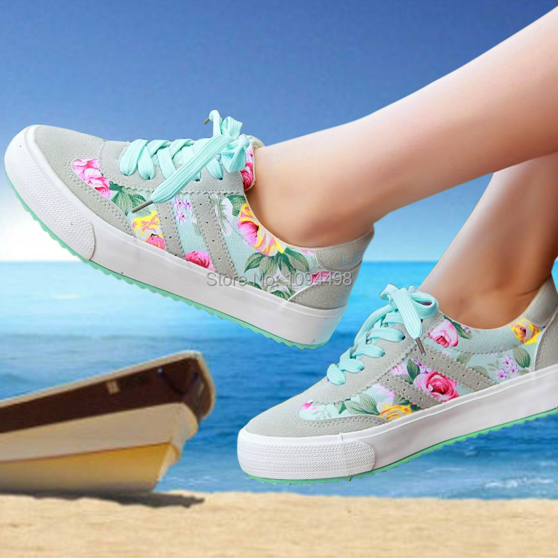 Sneakers women shoes plus size 35-41 women sneakers brand canvas shoes 2015 zapatos mujer sport shoes woman huaraches sneakers(China (Mainland))