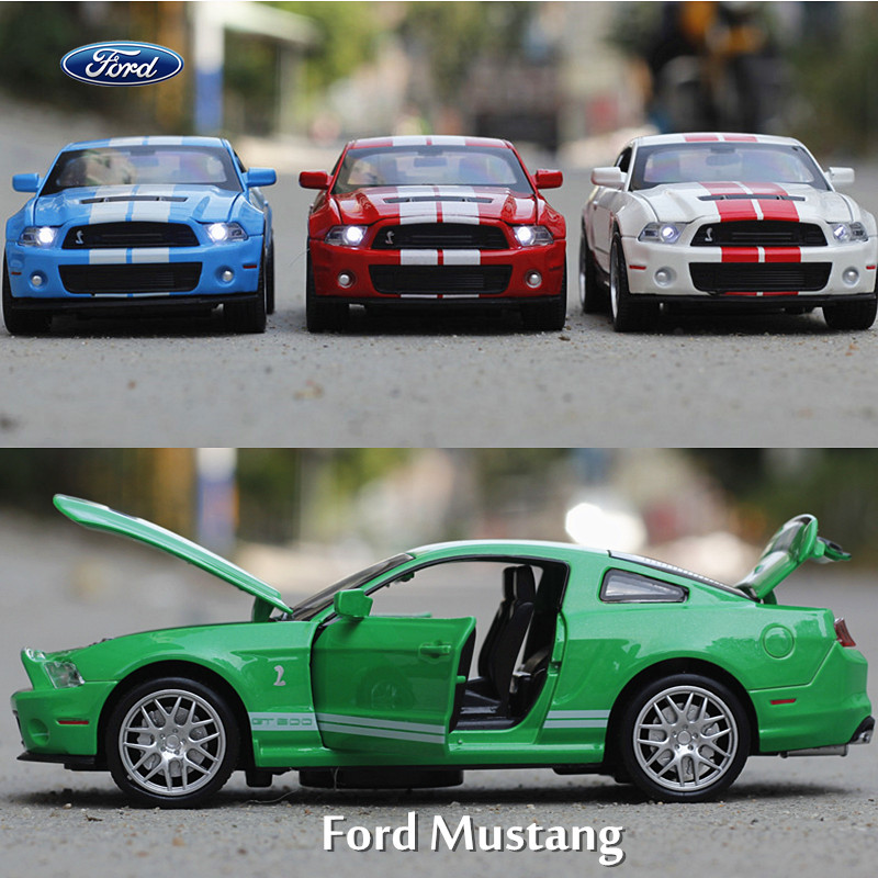 1:32 alloy toy car models Ford Mustang GT Coupe kids/ baby toys hot wheels toy car toys for children like train not plastic toys(China (Mainland))