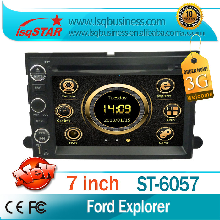 3G Car DVD Player GPS Navigation Blueteeth USB ATV Radio Multimedia Ford Explorer/Expedition add canbus Support SWC - LSQSTAR store