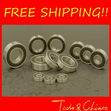 10Pcs 6000-2RS 6000RS 6000rs 6000 rs Deep Groove Ball Bearings 10 x 26 x 8mm Free shipping High Quality(China (Mainland))