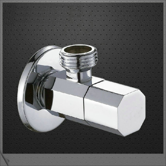 e_pak Chrome Kitchen&amp;Bath Fixtures 6202/5 Bathroom Square Filling s Brass Water Stop Angle pop square<br><br>Aliexpress