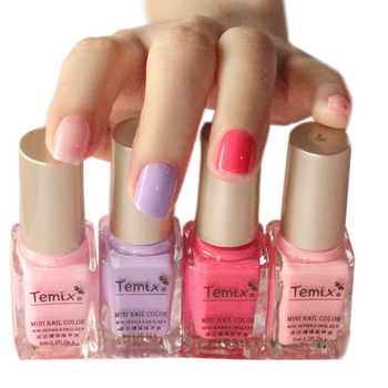 Authentic glitter nail polish set nude candy armor oil
