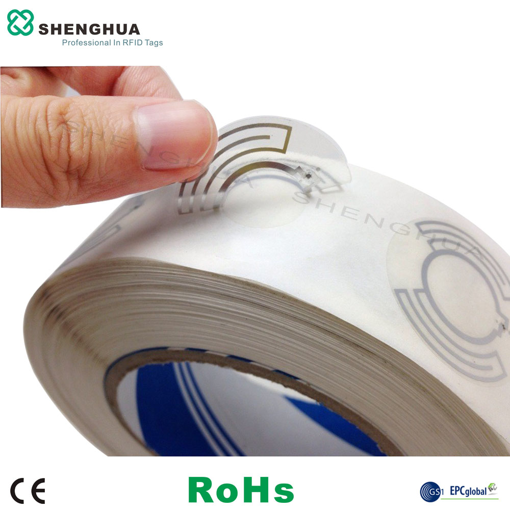CD/VCD/DVD Tracking with Smart Self-adhesive RFID Disc Tag Label(China (Mainland))