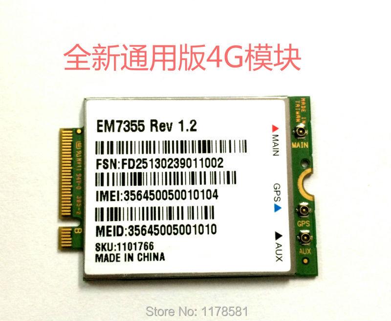 Sierra Wireless EM7355 GOBI5000 3G/4G LTE Module NGFF 4G Card<br><br>Aliexpress