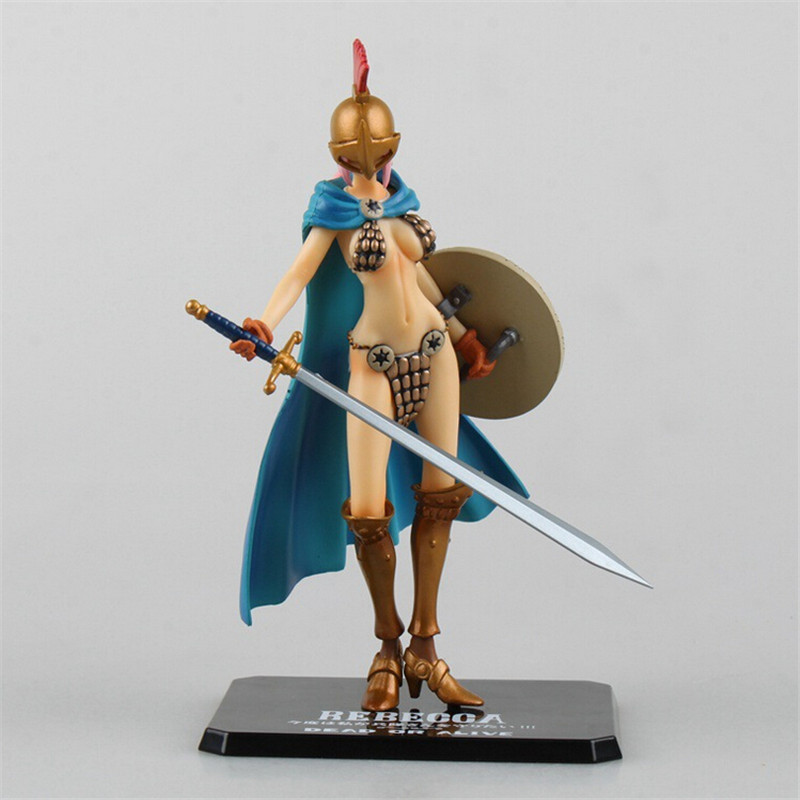 Anime One Piece POP Rebecca PVC Action Figure Collectible Model One Piece Figure Toys POP Sexy Gladiator Rebecca Action Figures(China (Mainland))
