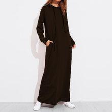 Celmia בתוספת גודל נשים מקסי שמלת סתיו סלעית שמלת סווטשירט נקבה ארוך שרוול נים חורף סוודר Vestido Robe Femme(China)