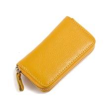 Fashion Luxury unisex Door Car Key genuine Leather Keychain Holder Bag Purse Case Free shipping Support wholesales