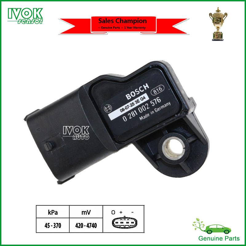 Map Sensor For Renault Trucks Kerax Magnum Midlum Premium 5010437653 50 10 437 653 7420524936 5010450894(China (Mainland))