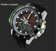 Nueva relogio masculino SKMEI relojes para hombres relojes de escalada militar correa del silicón LED Digital Light japón relojes Analog Men