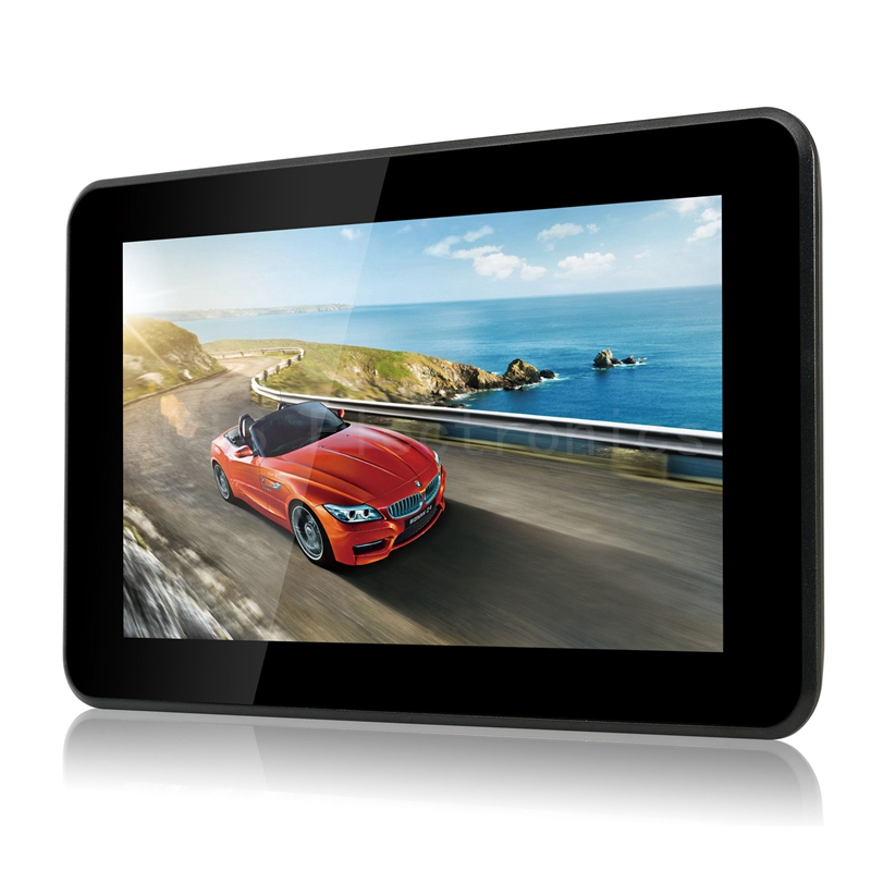 Latest 7 inch GPS Android GPS Navigation Pad WiFi Internet Tablet 16GB 512MB DDR3 Quad Core 4 CPU Music Movie Ebook Game Player(China (Mainland))