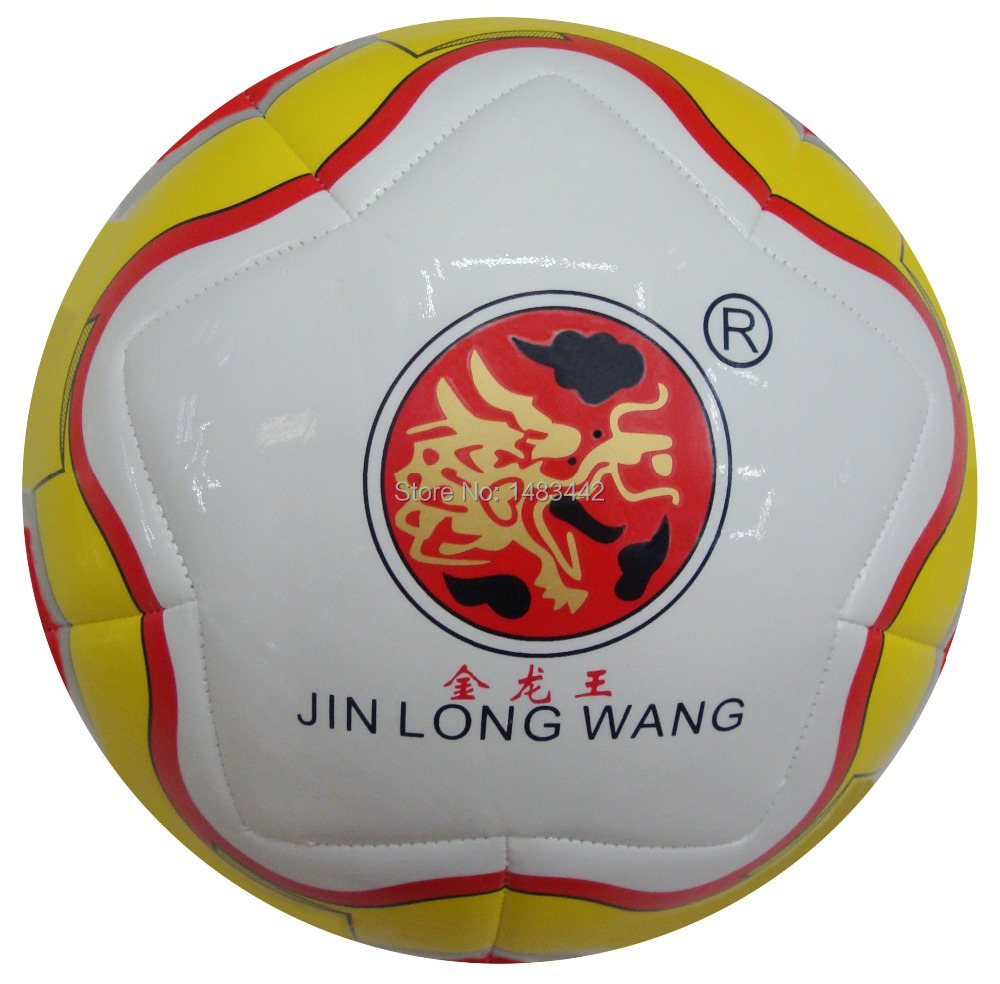 Free Shipping size 5 football machine Stitched Outdoor game soccer Football ball High quality GY-W054(China (Mainland))