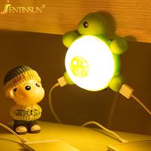 0.6W Creative Turtle Night Light Voice & Light Sensor Led Light Energy Saving Wall Lamp for Baby Children Bedroom Beside Lamp(China (Mainland))