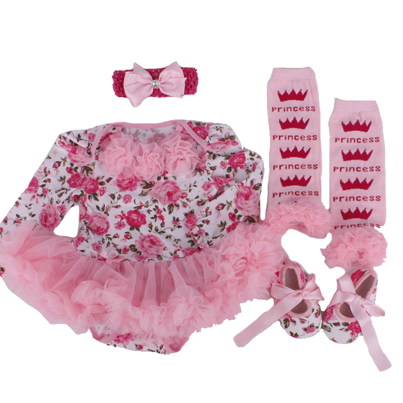 Newborn Baby Birthday Sets,Carters Baby Girl Clothes,Frozen Romper Princess tutu Dress+Headband+Socks/Shoes,Christmas Gifts<br><br>Aliexpress