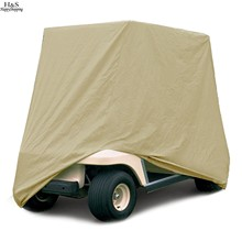 ANCHEER 4 Passenger Golf Cart Cover Protect For EZ Go Club Car For Yamaha Cart 112 inch(China (Mainland))