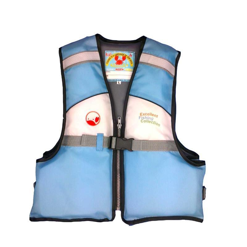 Professional Children Life Jacket Kids Swim Jacket Vest Swimming Training Aid Survival Suit for 2-14 Years Old(China (Mainland))