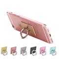 360 Degree Finger Ring Holder Mobile Phone Stand Universal ring hook bracket For iphone 7 plus