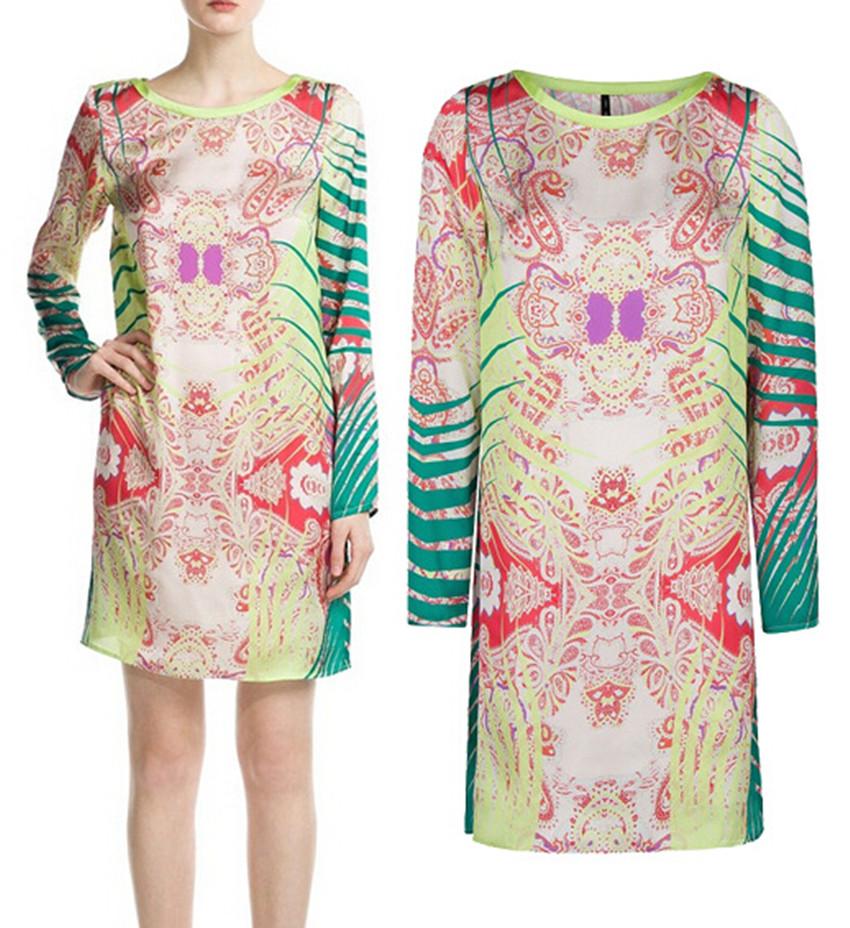 Long Sleeve Long Dresses Cheap Dress o Neck Long Sleeve
