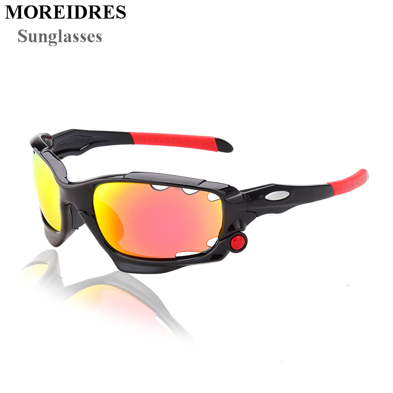 Men UV400 Cycling Glasses Outdoor Sport Mountain Bike MTB Bicycle Glasses Motorcycle Sunglasses Eyewear Oculos Ciclismo J042<br><br>Aliexpress